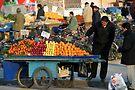 Street Seller in Konya by Jens Helmstedt