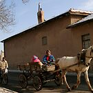 Horse Carriage in Konya-Karatay by Jens Helmstedt