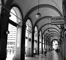Pizzeria - Rome by Samantha Higgs