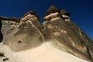 Zelve in Cappadocia by Jens Helmstedt