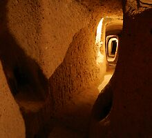 Kaymakli Underground City by Jens Helmstedt