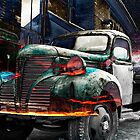 Flaming Truck 1 by Keith Vander Wees
