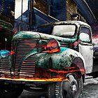 Flaming Truck 1 by Keith Vander Wees