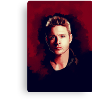 Dean Portrait Canvas Print