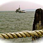 Prudence Island ferry by Nancy Richard