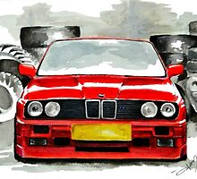 BMW M3 E30 by AleczandraLee