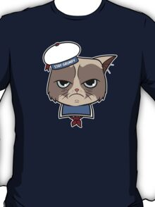 Stay Grumpy The Marshmallow Cat T-Shirt