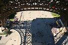 Eiffel Tower queues by Morag Anderson
