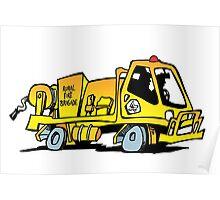 Rural Fire Brigade truck (Queensland) Poster