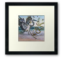 """Serpent and the Thistle""  Framed Print"