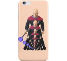 Picard in Multiple Dimension iPhone Case/Skin