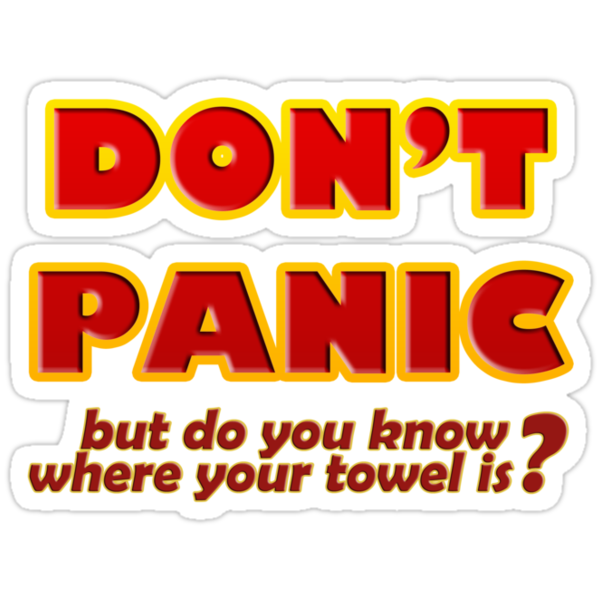 Don't Panic by JellyDesigns