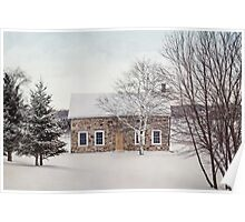 little stone house Poster