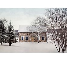 little stone house Photographic Print