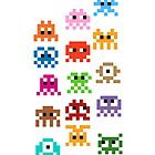 Pixel Art Monsters by jaredfin