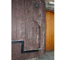 Judas Door Photographic Print