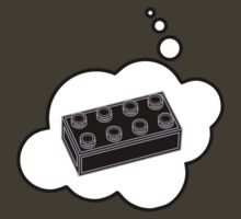 Black Brick by Bubble-Tees.com by Bubble-Tees