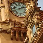 Side View of the Clock Tower, Main St Station by Arteffecting