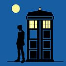 Beneath the Tardis Moon by Ameda Nowlin