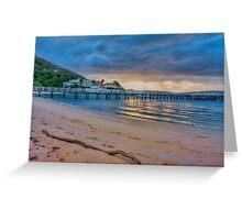 Chowder Bay Sunrise Greeting Card