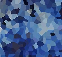Small Blue Crystals by jojobob