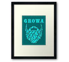 Growa Beard Framed Print