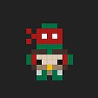 Pixel Art TMNT Raphael by jaredfin