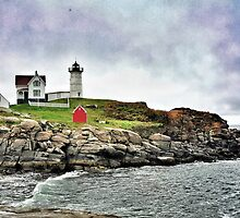 Cape Neddick Light, Maine by fauselr