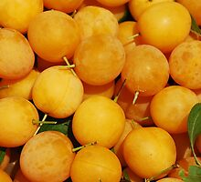 Yellow Cherries by jojobob
