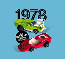 1978 Toy Racers (blue) by robgould1972