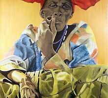 Herero lady by Beth Neden