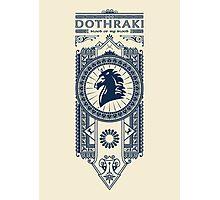 Dothraki Photographic Print