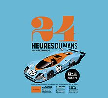 Le Mans Porsche 917 by robgould1972