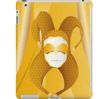 Mascaras Venecianas (3) iPad Case/Skin