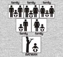 Family - Batman by stevebluey