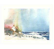 Whitehills 2, Scotland - 2013 Art Print