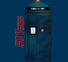 "Doctor Who - ""Happy Anniversary Whovians!"" by radruby"