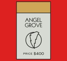 Angel Grove Monopoly Location by huckblade