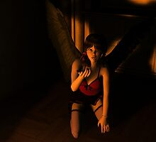 Succubus in Corner by Stephen Burke