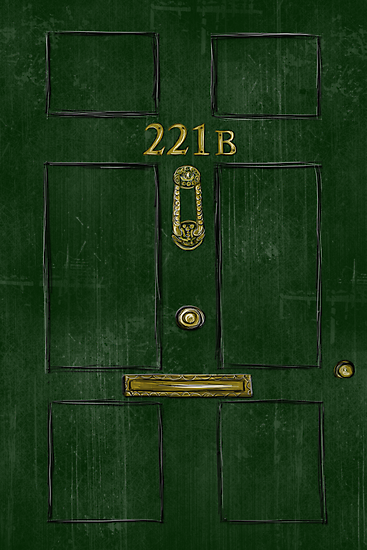 221B Door by Kristina Moy