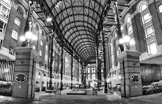 Hay's Galleria - London HDR by Colin J Williams Photography