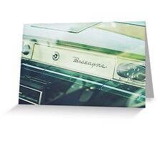 chevy biscayne - 3 Greeting Card