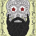 Skull Beard by mijumi