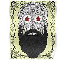 Skull Beard Poster