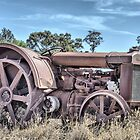 early 1900's tractor retired by outbacksnaps