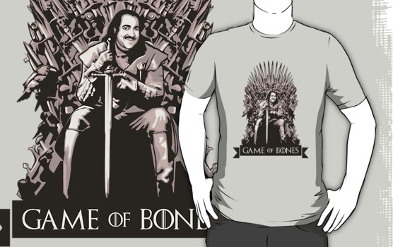 Ron Jeremy - Game of Bones by FacesOfAwesome