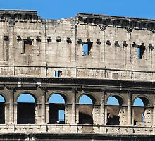 Detail of Colosseum Facade by kirilart