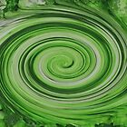 Fast Green Swirl by jojobob