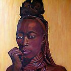 Himba lady by Beth Neden