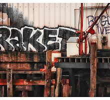 Tagging Waterfront by Richard Bean